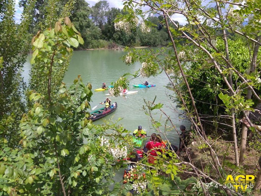 Educazione ambientale: il 13 giugno a Capo due rami per la discesa del fiume in canoa, prevista raccolta di rifiuti