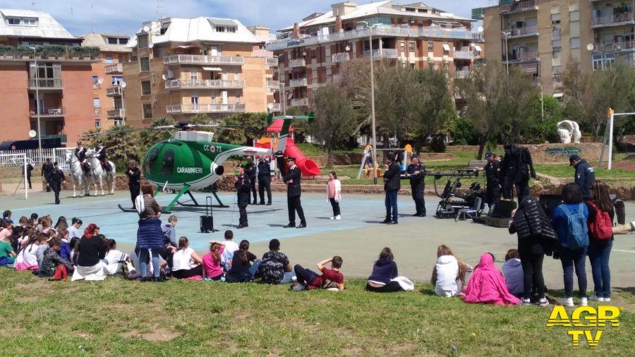 Ostia, a piazza Gasparri.... lezione di legalità