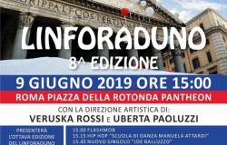 Roma, Linforaduno al Pantheon
