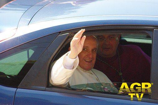 Roma, il treno dei bambini....da Papa Francesco