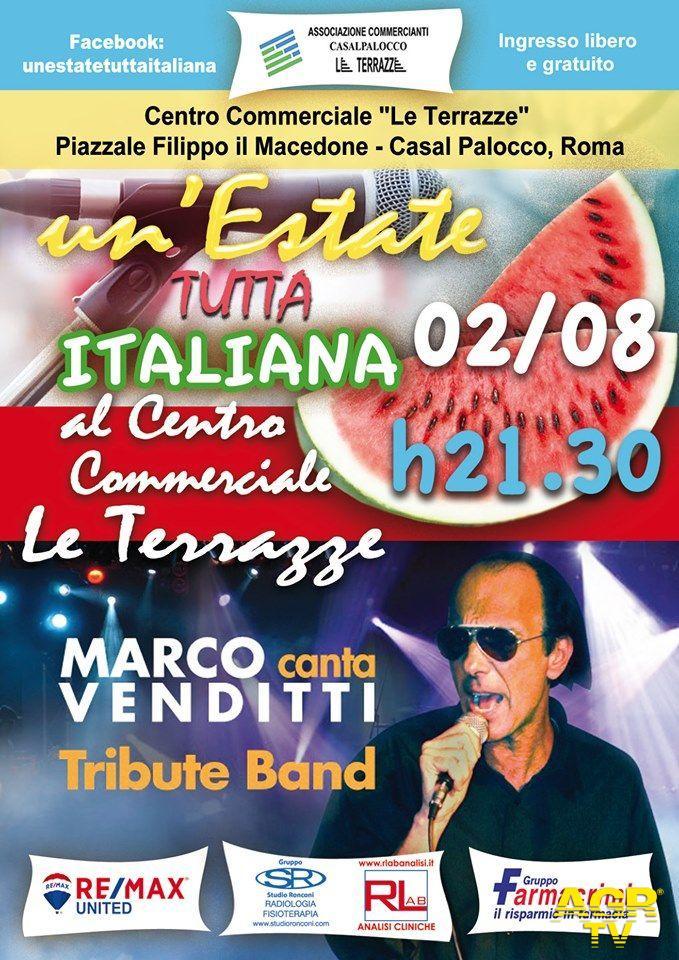 Estate tutta italiana...gran finale domani sera a Casalpalocco