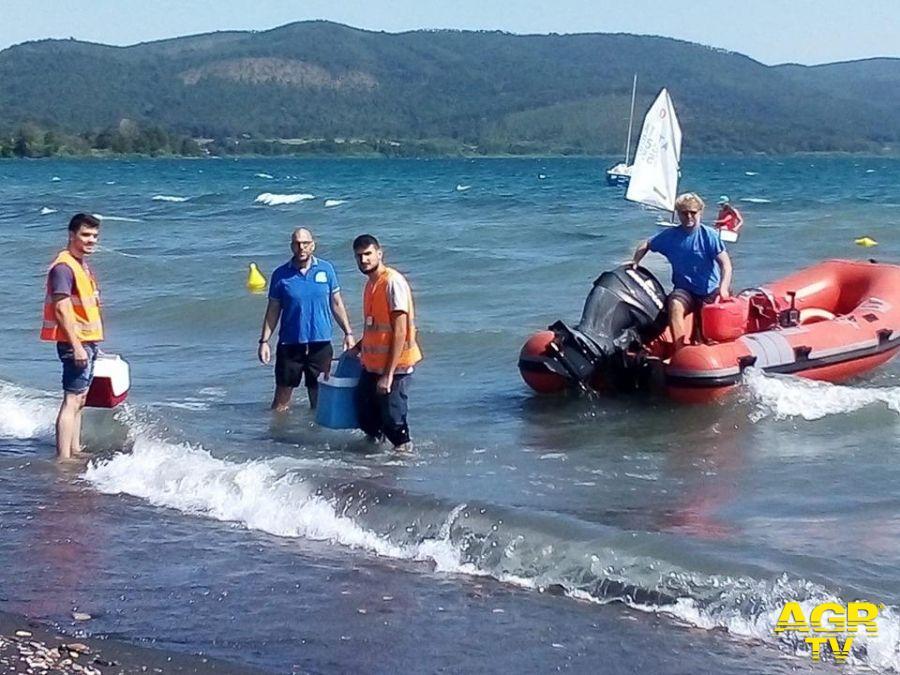 Bracciano, contrordine, le acque del lago sono....pulite