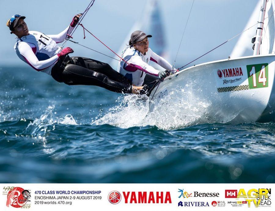 Vela, mondiale 470, un buon terzo posto per Elena Berta e Bianca Caruso
