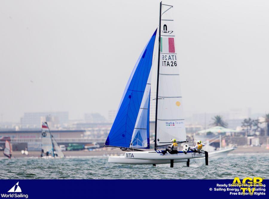 Vela, test olimpici, Nacra 17 italiani in testa