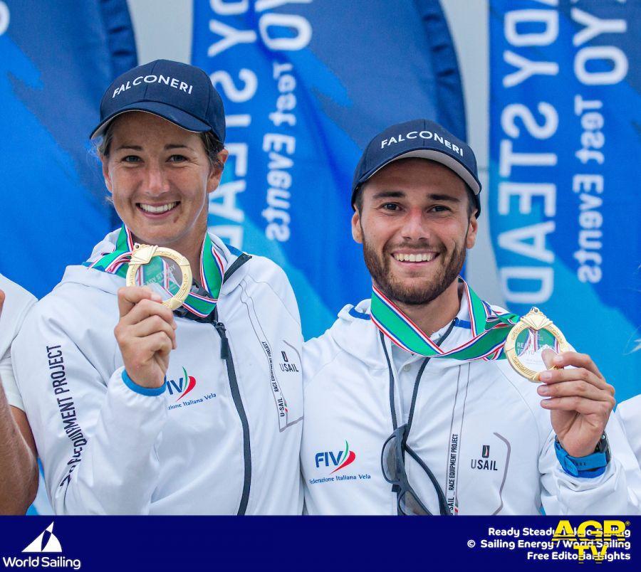 Vela,test olimpici, l'Italia....c'è