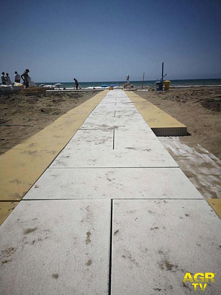 Ostia, lavori in corso sulle spiagge libere per tutta l'estate