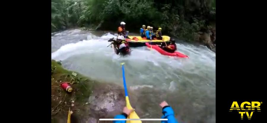 Rafting, strappato....alle rapide un capriolo