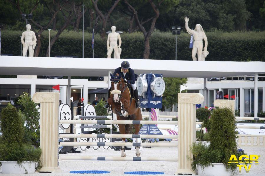 Equitazione, subito in evidenza gli azzurri al Longines Global Champions Tour di Roma