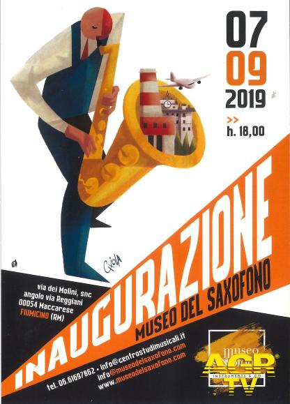 Maccarese,sabato inaugurazione del museo del Sax