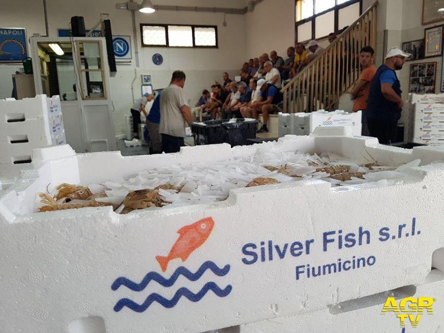 Fiumicino, l'asta del pesce in crescita