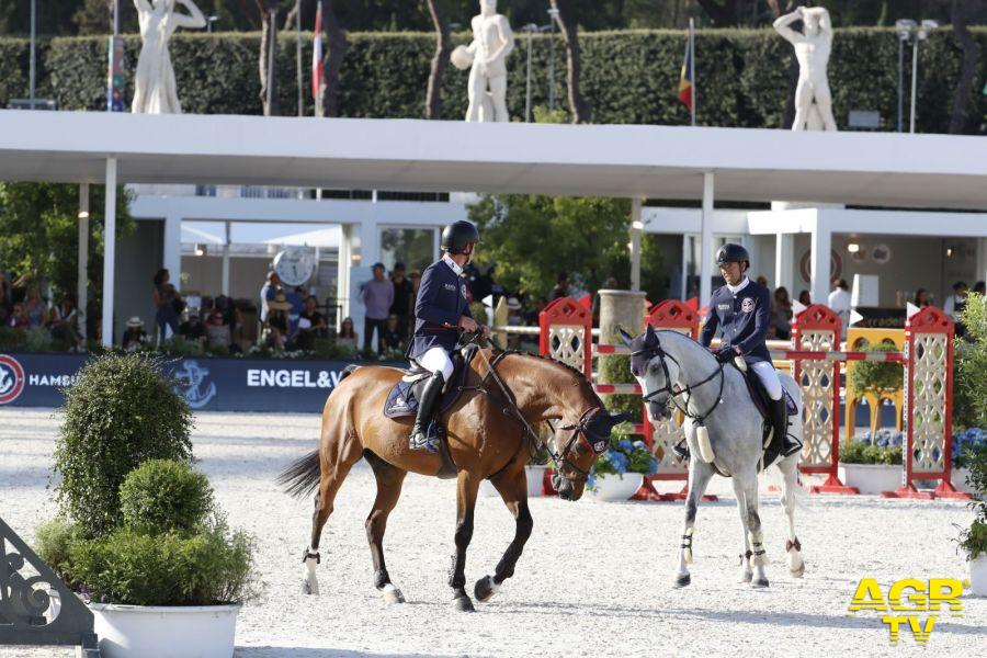 Equitazione,oggi finale a squadre a Roma