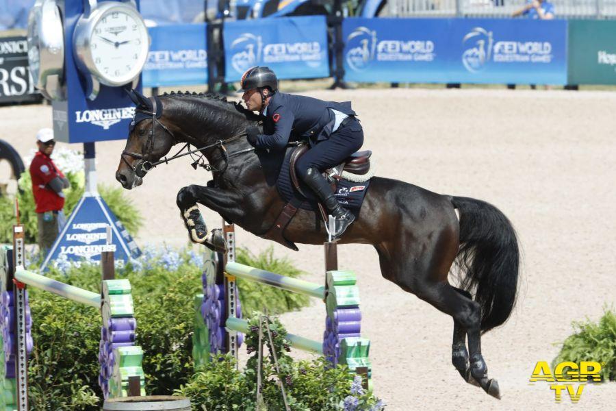 Equitazione, podio sfiorato da Luca Marziani