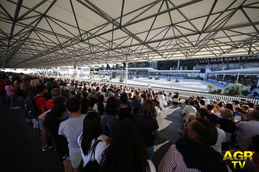 Roma stregata dall'equitazione....con il Longines Global Champion Tour