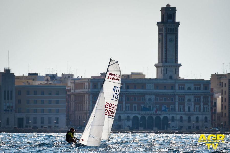 Vela, conclusi a Bari i campionati giovanili in doppio