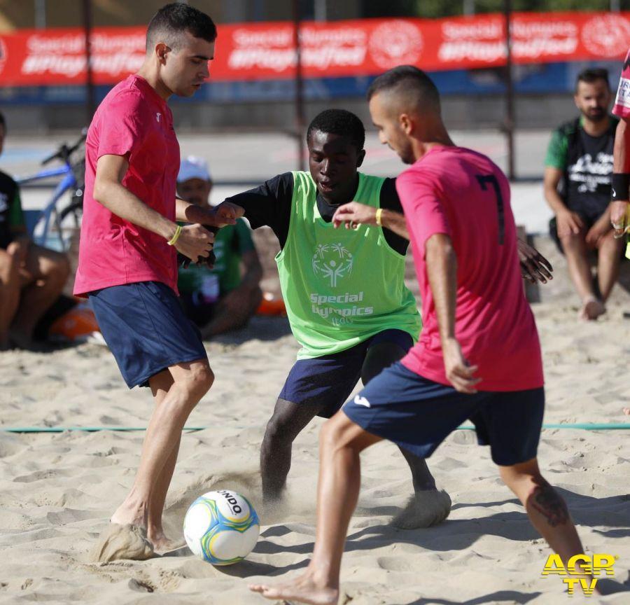 Cesenatico, lo sport dell'inclusione si fa sulla sabbia