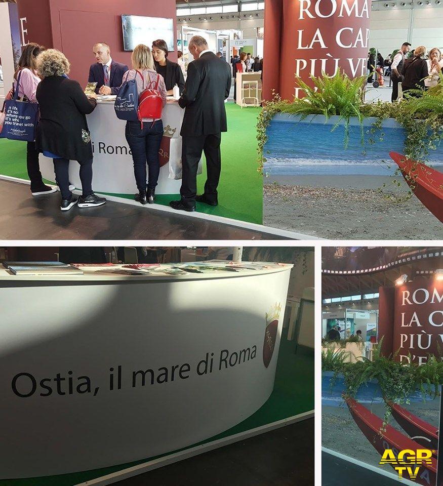 Rimini, Ostia la sorpresa di Roma alla fiera del turismo