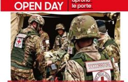 "La Caserma del Corpo Militare Volontario CRI ""Luigi Pierantoni"""