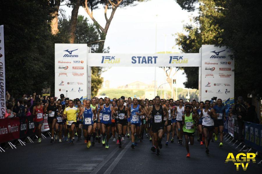 Atletica, Roma Urbs Mundi, il centro città va di corsa...