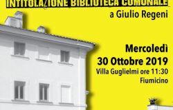 Fiumicino, intitolata a Giulio Regeni la biblioteca comunale