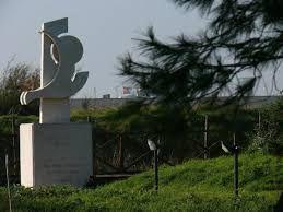 Ostia, un saluto a Pier Paolo...omaggio a Pasolini il 2 novembre