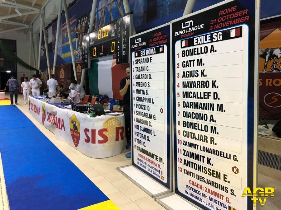 Ostia, la Sis Roma vince e ...convince all'esordio in Coppa Len