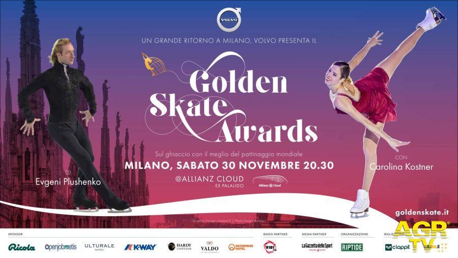 Golden skate awards, a Milano le