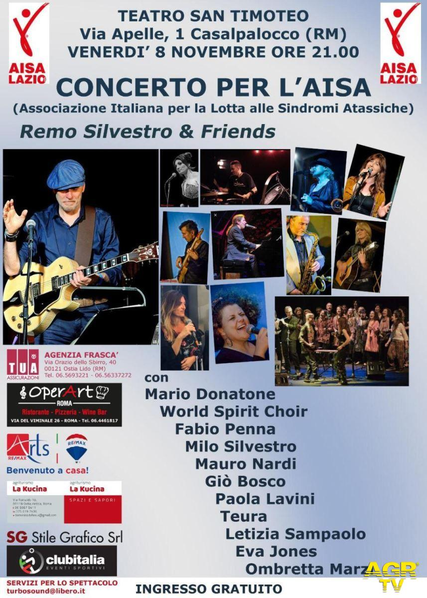 Casalpalocco, concerto di solidarietà a favore dell'Aisa
