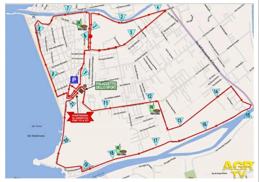 Fiumicino si ferma...domani c'è la mezza maratona
