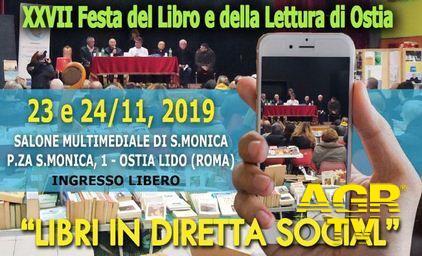 Ostia, torna la Festa del Libro, 27° edizione