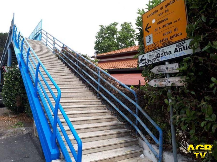 Ostia Antica, il nuovo progetto per l'accesso alla stazione