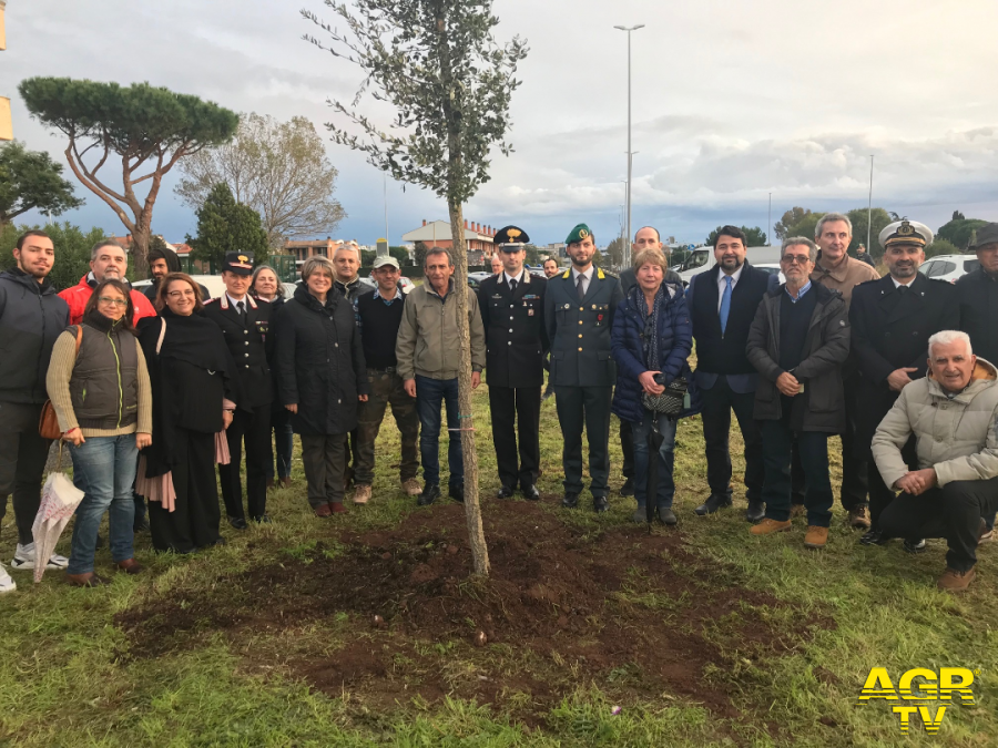 Ostia, per la giornata degli alberi piantate oltre 60 essenze a Dragoncello