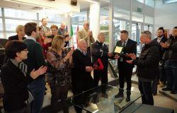 Fiumicino, premiati Franco Moruzzi e Simone Lettere, protagonisti nello sport