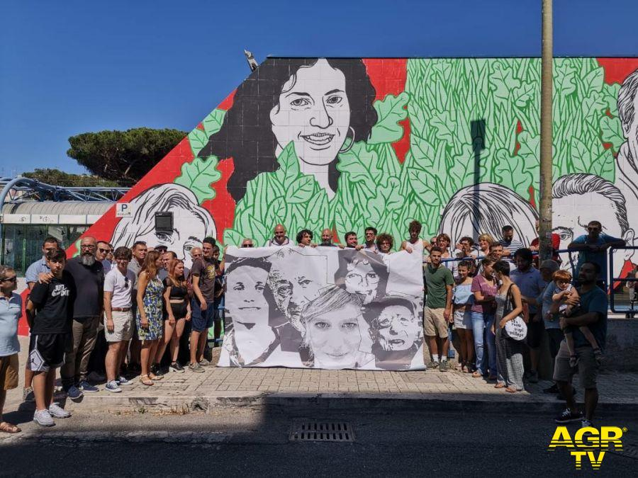 Ostia, al via raccolta fondi per il murales a Lido Nord