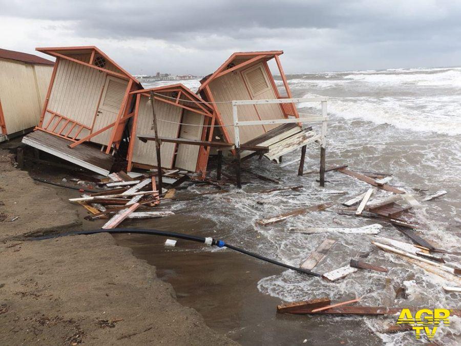 Maltempo, ad Ostia e Fiumicino torna il sereno, ma i danni sono ingenti