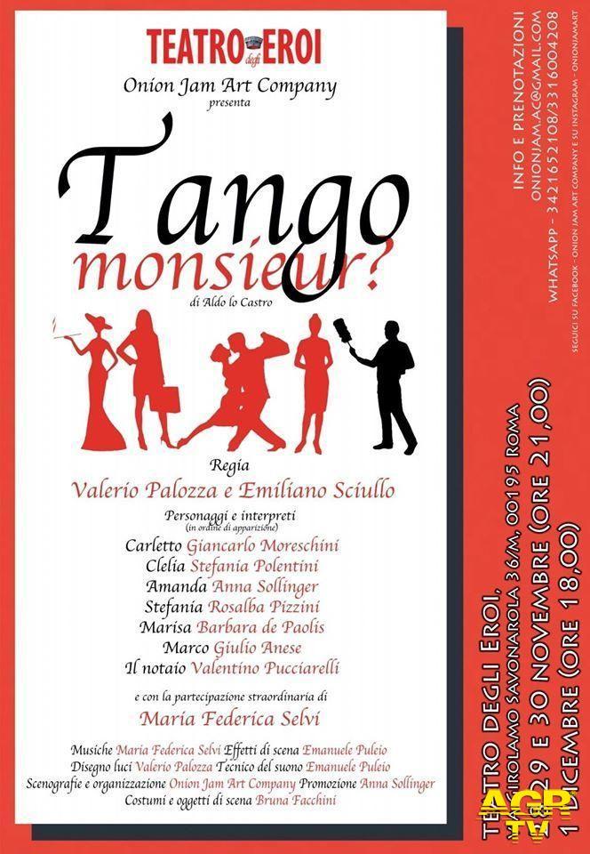 Tango monsieur....?