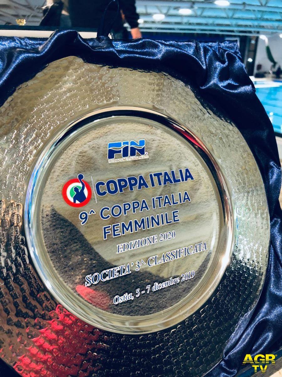 Pallanuoto, Lifebrain SIS Roma porta a casa il terzo posto in Coppa Italia