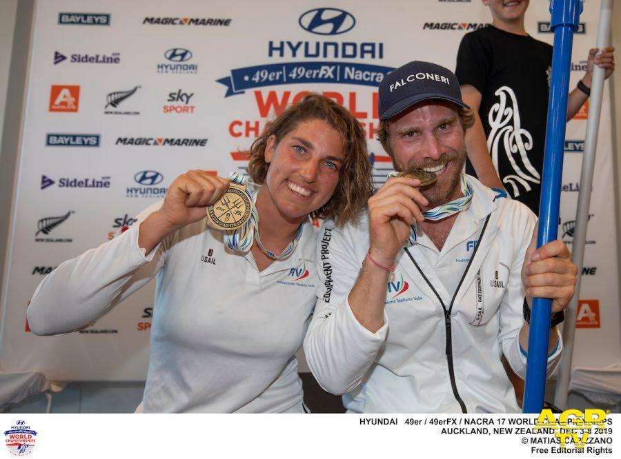 Vela, i mondiali di Auckland si tingono d'oro