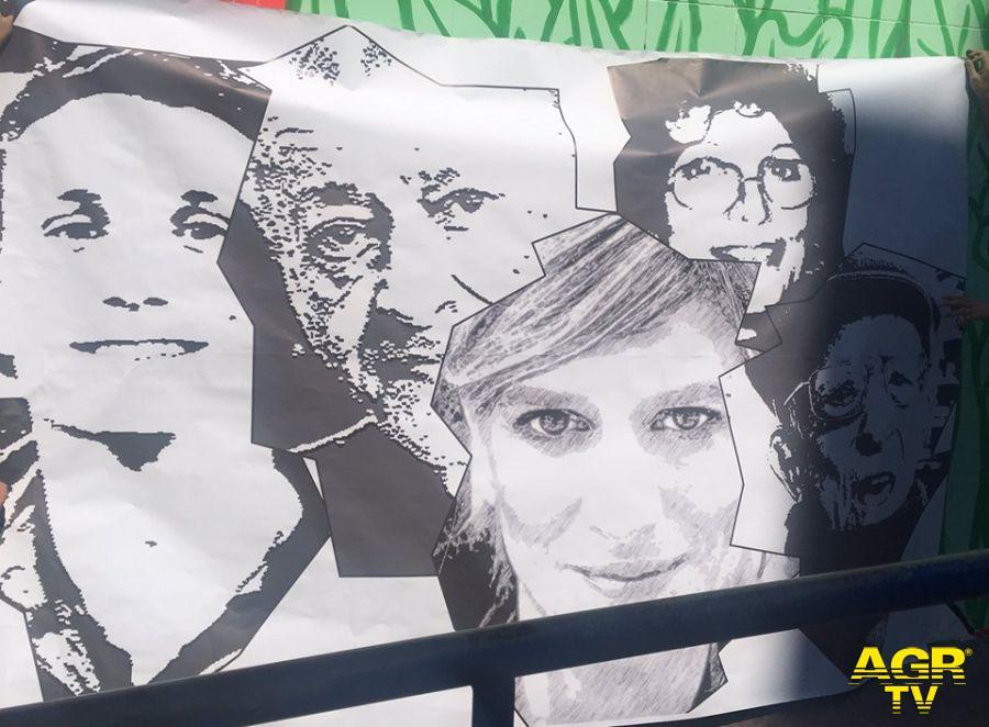 Ostia, il murales della legalità tornerà alla sua forma originale