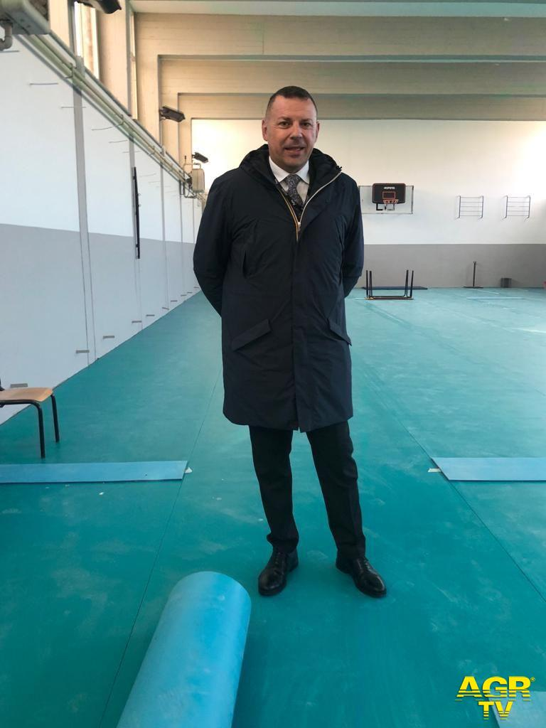 Fiumicino, ultimati i lavori nella palestra della Lido del Faro