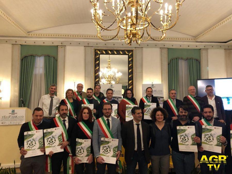 Ecoforum Lazio, premiata Fiumicino