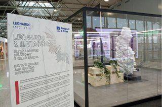 Fiumicino,  in aeroporto le sculture finaliste del concorso Leonardo
