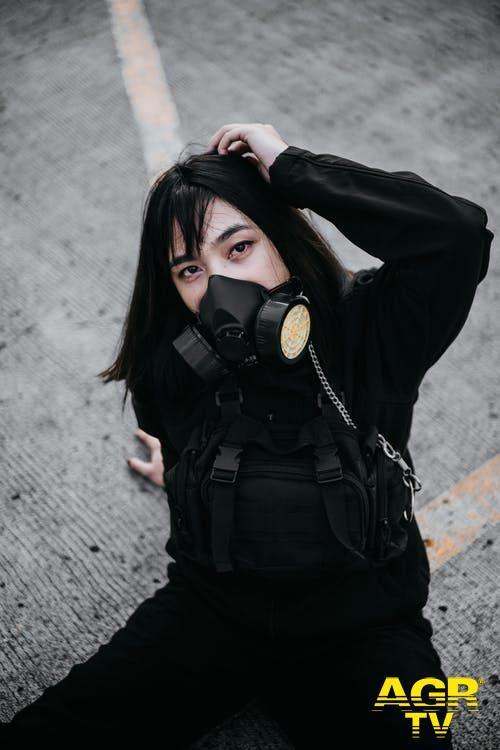 mascherina contro lo smog