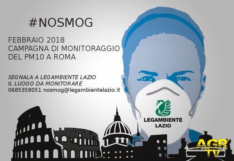 allarme inquinamento a Roma
