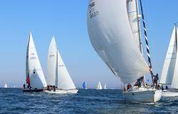 Vela, Campionato d'altura di Roma, spettacolo in mare