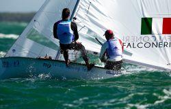 Matteo Capurro e Matteo Puppo (Yacht Club Italiano)