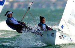 Benedetta Di Salle (Marina Militare) e Alessandra Dubbini (Fiamme Gialle)