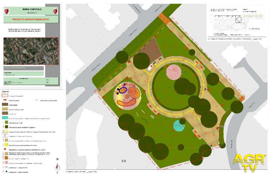 il progetto del nuovo parco