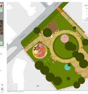 Infernetto, iniziato il restyling del parco di via Orazio Vecchi