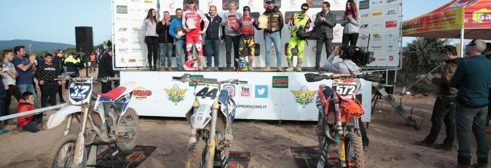 Pata Talenti Azzurri FMI Motocross: buona la prima a Riola Sardo