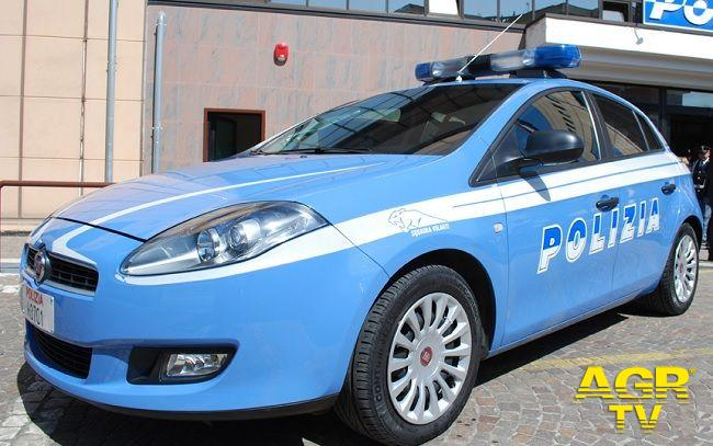 Auto della Polizia di Stato